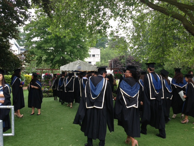 Graduation time at Oxford Brookes University – Ana Canhoto
