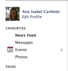 "Preview of ""Facebook"" profile"