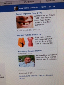 FB advert