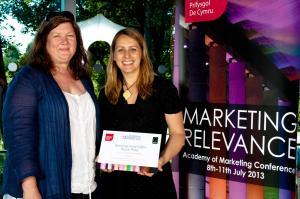 AmCon2013 Cardiff Faten prize