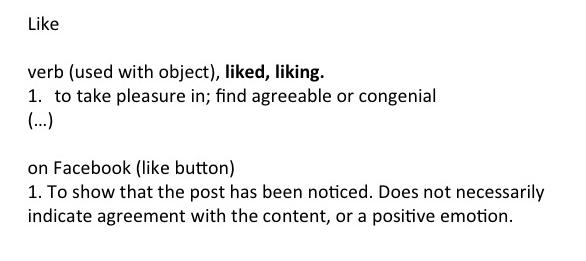 like dictionary