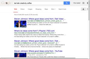creativity coffee Google