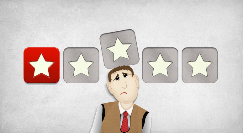 Handling negative online reviews: speed and voice matter; status and action frame not so much