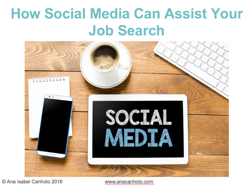 How social media can assist your job search